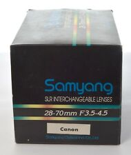 Samyang 28-70mm f3.5-4.5 for Canon FD