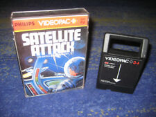 G7000 Philips Videopac + 34   SATELLITE ATTACK 34 G 7400 G 7000