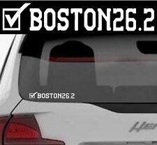 2018 OR any year Boston Marathon Finisher 26.2 Luggage,SuitCase,Car Window Decal