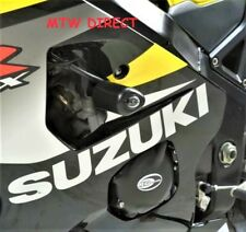 R&G PAIR BLACK Aero Frame Slider Protectors  Suzuki GSX-R750 (2005 K5)
