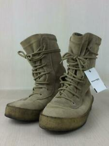 Yeezy Lace-Up 43 Beg Beige Size 43 Fashion Boots 2656 From Japan