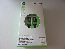 Belkin 4K High Speed HDMI Cable With Ethernet 5 Meter/16 Feet New