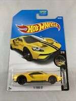 Hot Wheels - '17 Ford GT (2017 Yellow) - Diecast 1:64 - BOXED SHIPPING