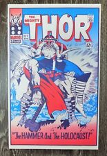 """Foom MarvelMania Poster Mighty Thor Jack Kirby  12"""" by 19"""" 1970 T"""