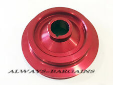 Underdrive Pulley Fits Honda Accord 1998-2002 3.0L V6 Red