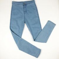 Falmer Heritage Womens Jeans Size Small High Rise Skinny Light Wash Stretch
