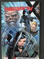 WEAPON X VOL #1 (2017) SOFTCOVER TPB MARVEL COMICS 50%off 🔥🔥🔥