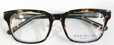 Ann Taylor At401 Womens Tortoise Crystal Eyeglass Frames 50-17-135 (Lot 8641)
