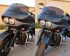 """Harley Davidson Road Glide Adjustable Baggershield Windshield 10.5""""-17.5"""""""