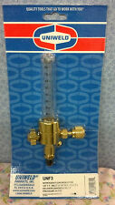 UNIWELD, UNF3, Nitrogen Flow METER, 1/4F.F. Inlet x 1/4 M.F.  0-80 SCFH