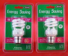 10W Energy Saving Spiral Bulb, BC Cap  [ by Ring ] QTY: 2