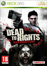 DEAD TO RIGHTS RETRIBUTION GIOCO NUOVO PER MICROSOFT XBOX360 IN EDIZIONE ITALY