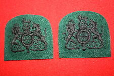 BRITISH CANADA CANADIAN WWII WOI RANK PATCH BADGE RIFLE REGIMENTS