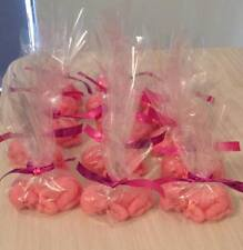 Set of 10 pink baby shower soaps, christening, gifts, baby, birthday favours