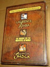 David Lean 3-Pack (The Bridge on the River Kwai/Lawrence of Arabia/A Passage)NEW