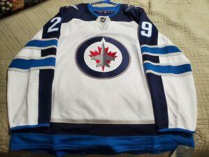 Adidas NHL Winnipeg Jets Patrick Laine #29 SZ 52 Authentic Away White Jersey New