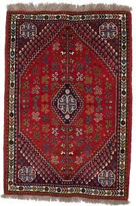 Tribal Design Farmhouse 3X5 Small Handmade Wool Oriental Rug Home Decor Carpet