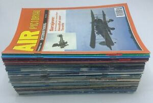 Air Pictorial Aircraft Aeroplane Magazines 48 Issue Job Lot 1987 - 1992
