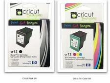 Cricut Print Cartridges *YOU RECEIVE BLACK AND COLOR CARTRIDGES*