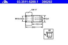 Adapter Bremsleitung - ATE 03.3511-5200.1