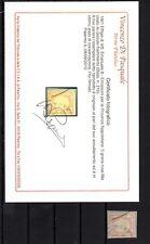 1861 - Regno - 5 grana rosa lilla usato su frammento - per le province Napoletan
