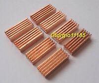 8Pcs Pure copper (fine copper) Heat Sink For IC DDR DDR2 DDR3 RAM  Memory