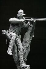 120mm 1/16 Union Berdan Marksman, American Civil War, sculpted by Maurice Corry