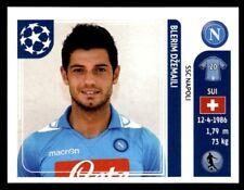 Panini Liga de Campeones 2011-2012 - Blerim Dzemaili SSC Napoli Nº 67