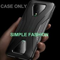 For Xiaomi Black Shark 3 /Pro Carbons Fiber Hybrid Soft Rubber Covers Shockproof