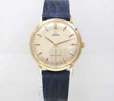 32mm OMEGA H6302 1962 Tapestry 14KGF Cal.510 Manual Mens Swiss Vintage Watch