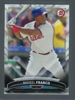 2016 Bowman Sophmore Standouts  #SS15  MAIKEL FRANCO   PHILLIES