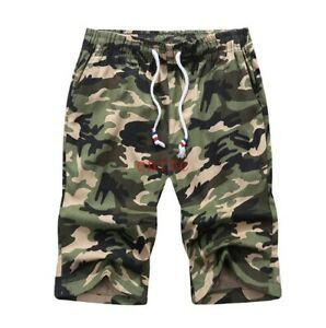 Men's Camo Cargo Shorts Military Army Camouflage Short Summer Casual Pants M-2XL