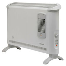 Dimplex 2000W Portable Electric Floor Convector Heater w/Turbo Fan Heating White