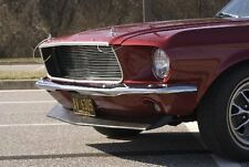 1967-1968 Mustang Fiberglass Front Chin Spoiler - 1 Available @ This Price!