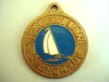 MEDAILLE NAVIGATION VOILE VOILIER STURGEON LAKE 1996
