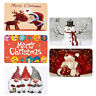 Christmas Door Mat Kitchen Floor Rug Bedroom Living Room Carpet Non Slip Home