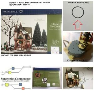 "DEPT 56 1 ROYAL TREE COURT Model #56.58506"" -REPLACEMENT PART - BELT"