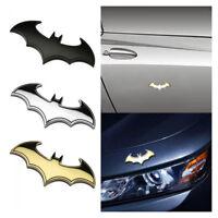 New Cool 3D Metal Bat Auto logo car sticker metal batman badge emblem tail decal