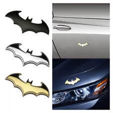 Bat Auto logo Auto Aufkleber Metall Batman Emblem Schwanz Aufkleber 3D Metall