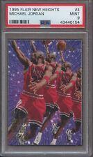 1995 Flair New Heights #4 Michael Jordan PSA 9 MINT