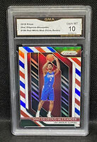 2018-19 Panini Prizm SHAI GILGEOUS-ALEXANDER RC Red White Blue Prizm GMA 10🔥