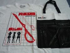 Loot crate anime tote bag aka me ga kill & m tshirt scissor blade white killlaki
