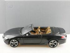 80430417424 Kyosho 1/18 BMW M6 Convertible darkgrey Händleredition Box 514342