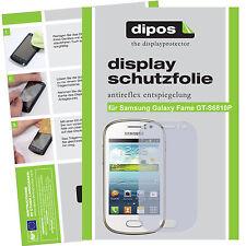 Samsung Galaxy Fame GT-S6810P Protector de Pantalla protectores mate