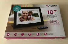 Aluratek (ADMPF410T) 10 inch Digital Photo Frame with 4GB Built-in Memory