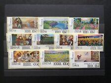 10 verschiedene ATM - Testdrucke - Spanien - ETIQUETA AJUSTE - postfrisch