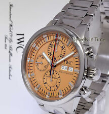 IWC 3715 Split Seconds Rattrapante Steel GST Chronograph Watch Box/Books 3715