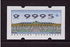 Bund, ATM 2.2.3 , DM 99,95, postfrisch 9995 , ohne Zählnummer, Höchswert (146)