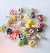 Squishy Bun Dessert BundlePhone Charm Variety Pack 10 Items