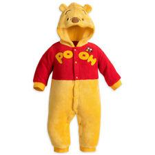 Disney Store Winnie the Pooh Baby Fleece Costume Baby Romper Bodysuit Halloween